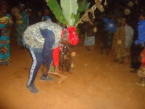 Le Metsah' est le rite d'ouverture des funérailles pour toute femme Bamiléké