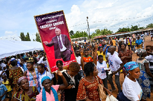 Laurent Gbagbo de retour en Côte d'Ivoire :