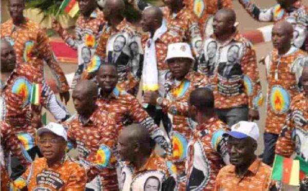 Les militants du RDPC