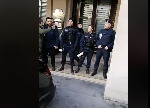La police française anti-émeute a été déployée dans les locaux de l'hôtel