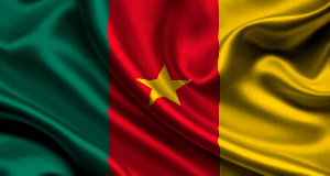 Un drapeau camerounais