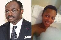 Le ministre Mouelle Kombi et Mani Bella