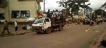 La ville d'Ebolowa sous forte présence policière