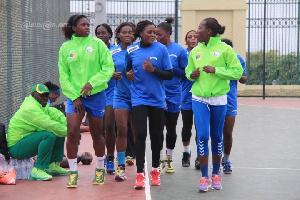 L'équipe nationale féminine fourbit ses armes pour la coupe d'Afrique des nations de handball