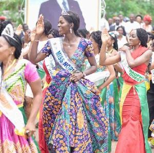 Elle a été élue Miss NORD Cameroun 2020