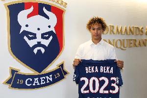Alexis Beka Beka est d'origine camerounaise