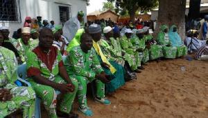Des militants de l'UNDP