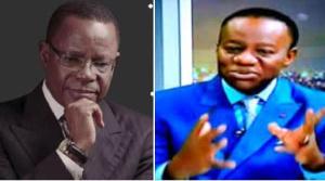 Prof Maurice Kamto et Prof Fame Ndongo