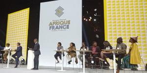 Le sommet France-Afrique à Montpellier