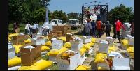 l'aide a été fournie par le gouverneur de l'Etat de Borno au Nigeria