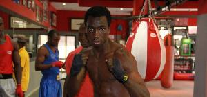 Le boxeur camerounais Mahaman Smaila