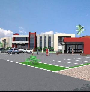 Plan de la mairie de Ngaoundere