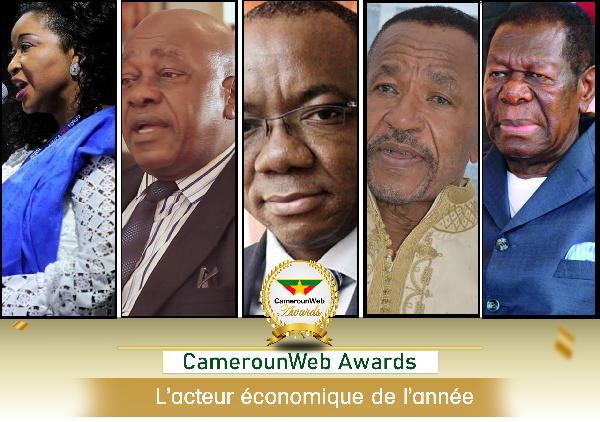 CamerounWeb vous propose d'élire la personnalité économique de l'année