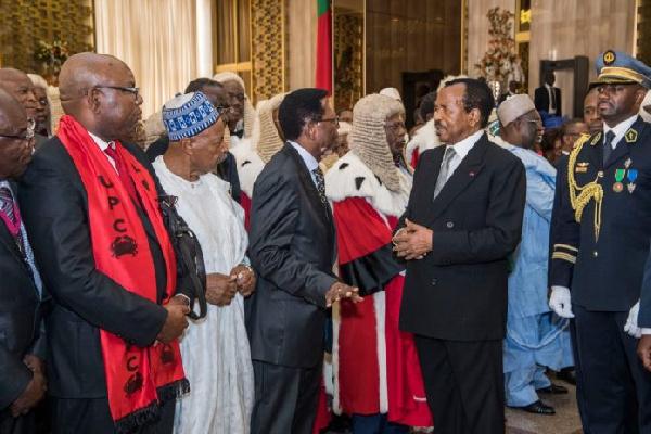 Paul Biya et Jean Nkuété