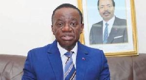 Jaque Fame Ndongo, ministre de l'Enseignement supérieur du Cameroun