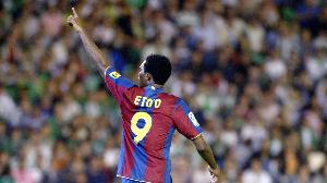 A l'issue de la saison 2008-2009 Samuel Eto'o quitte le FC Barcelone à la surprise générale