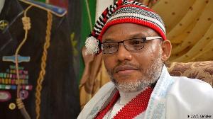 Nnamdi Kanu est un séparatiste Nigérian d'ethnie Igbo militant pour la cause du Biafra