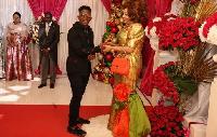 Ténor au Palais pour présenter les voeux de nouvel l'an à la première Dame du Cameroun