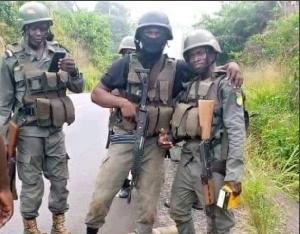 Des éléments de l'armée en opération ce jour