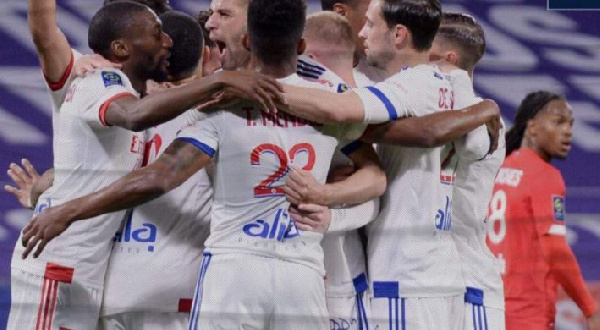 Les Lyonnais ce sont inclinés 2-3 au Parc OL face au Lillois