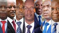 Seven candidates are seeking to replace President Pierre Nkurunzinza