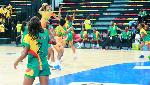 Lors du match Cameroun - Côte d'Ivoire
