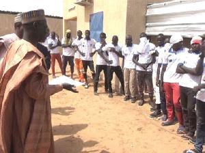 Le gouverneur de l'Extreme-Nord lors d'une rencontre avec des répantis de Boko-Haram