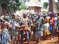 C'était le 31 décembre dernier, la chefferie a organisé une fête pour les fils de la contrée