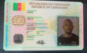 Une carte nationale d'identité
