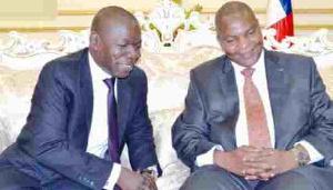Interdit de quitter le Cameroun, Amougou Belinga reçoit ses partenaires chez lui