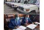 Manaouda Malachie, achète 25 ambulances à 7 milliards CFA