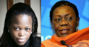 Nadia Fotso et Mme Claire Nnana