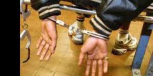 Un gangster arrêté (illustration)