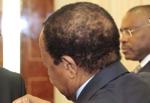 Paul Biya est apparu très diminué au forum de Paris sur la Paix