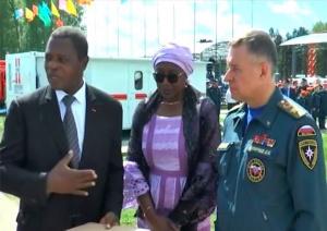 Paul Atanga Nji, Mme Yap et un officiel russe