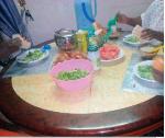 Pour Christelle Kounou, faire manger sa famille au quotidien n'est pas aisé