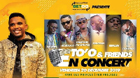 Samuel Eto'o  organise un grand concert de musique urbaine