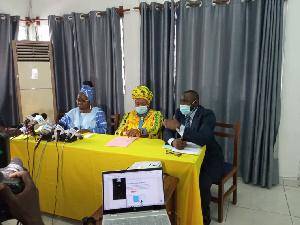 La conférence de presse a été initiée par 'STAND UP for Cameroon'