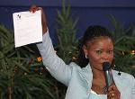 Calixthe Beyala signataire d'une motion de soutien à Paul Biya