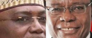 Atangana Mebara et Maurice Kamto
