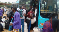 Une première vague composée de 120 étudiants a quitté ce matin pour Kouteré