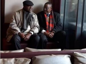 Penda Ekoka et Maurice Kamto