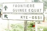A la frontière du Cameroun et de la Guinée Equatoriale