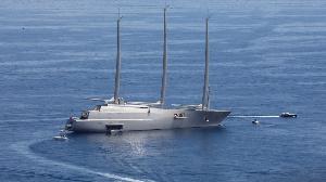 Le yacht principal disposera de plusieurs niveaux