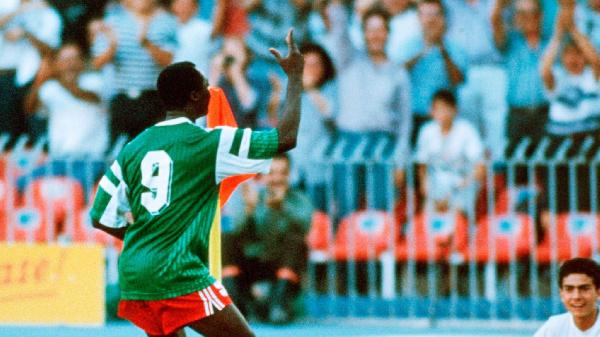 Roger Milla, ancien international Camerounais