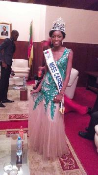 Julie Cheugueu,Miss Cameroun 2016