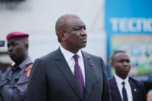 Le ministre ivoirien de la défense Hamed Bakayoko