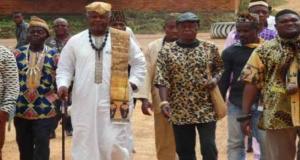 Des chefs traditionnels du Conseil régional du Sud
