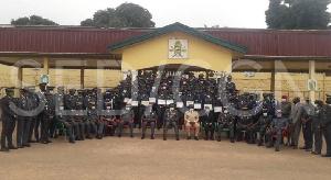 Ces Officiers stagiaires ont pu bénéficier d'enseignements très riches