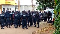Dispositif policier chez Maurice Kamto